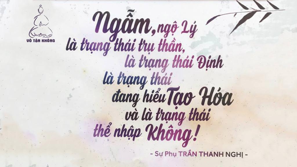 Lý Nhiên của Sư Phụ Trần Thanh Nghị - Trường Thiền Vô Tận Không